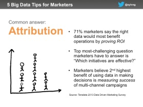 Agile data marketing tips