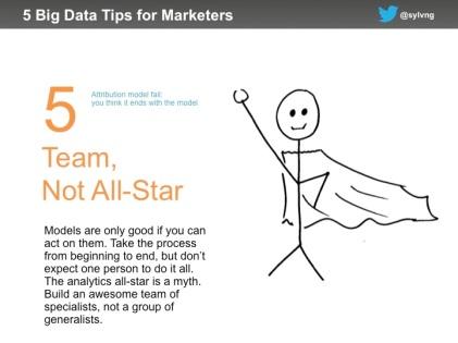 Marketing data tip #5 - team not allstar