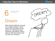 Marketing data tip #6 - dream